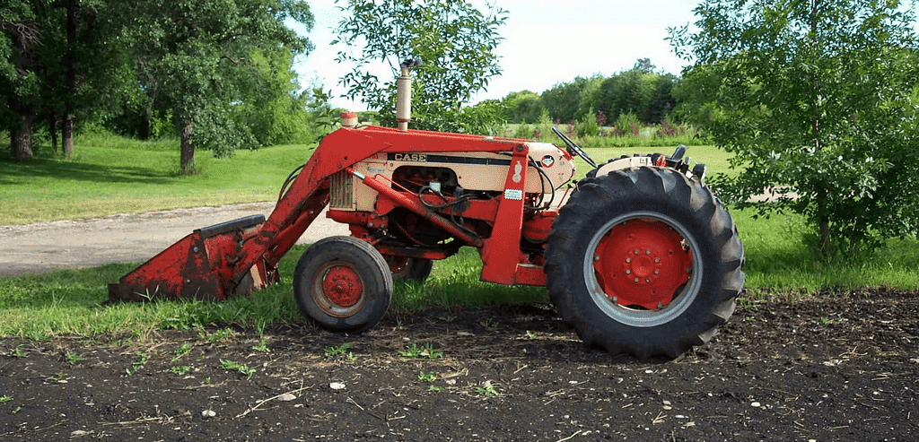 Front-Loading Tractor