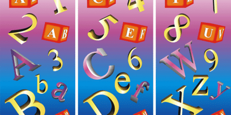 Letters and Numbers Set