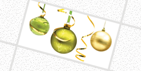 Hanging Christmas Ornaments