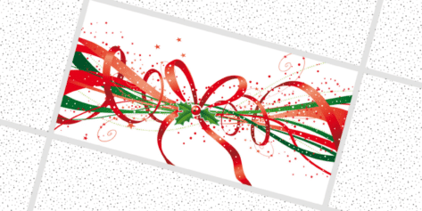 Holly Christmas Ribbons