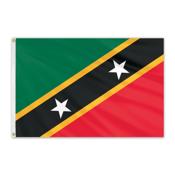 St. Christopher & Nevis Flags