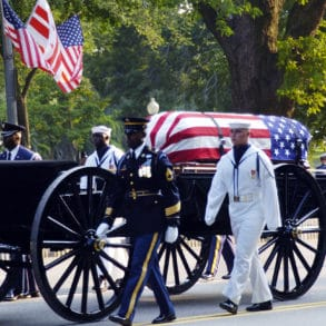 US Funeral and G-Spec Flags