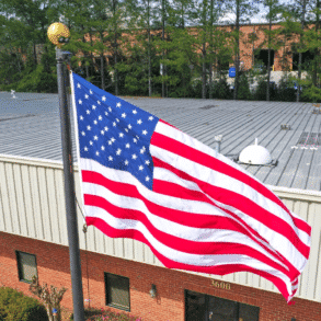 Larger Than 6′ x 10′ US Flags