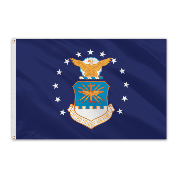 Air Force Outdoor Perma-Nyl Nylon Flag - 2'x3'