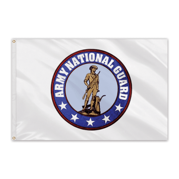 Army National Guard Outdoor Perma-Nyl Nylon Flag - 3'x5'