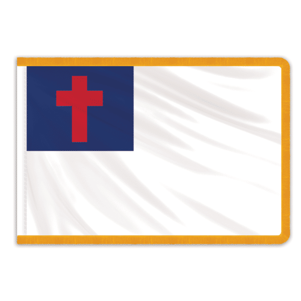 Christian Indoor PermaNyl Nylon Flag 3'x5'