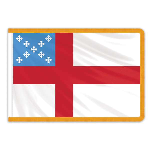 Episcopal Indoor PermaNyl Nylon Flag 3'x5'