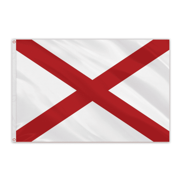 Alabama Outdoor Spectrapro Polyester Flag - 4'x6'