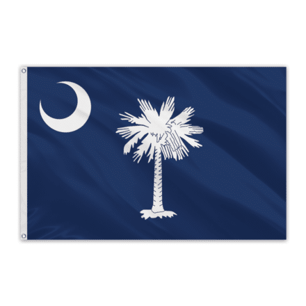South Carolina Outdoor Spectrapro Polyester Flag - 4'x6'