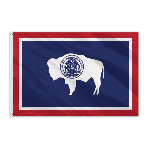 Wyoming Outdoor Spectrapro Polyester Flag - 4'x6'
