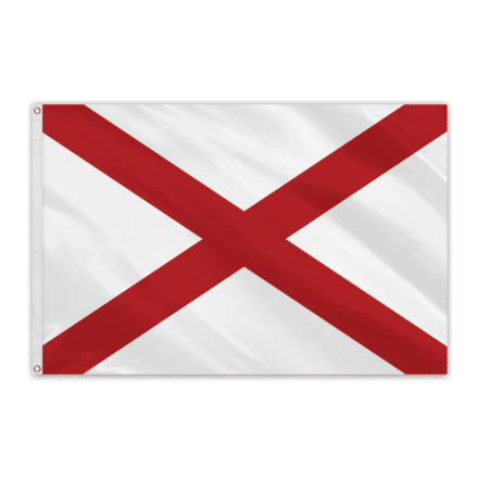 Alabama Outdoor Spectrapro Polyester Flag - 5'x8'