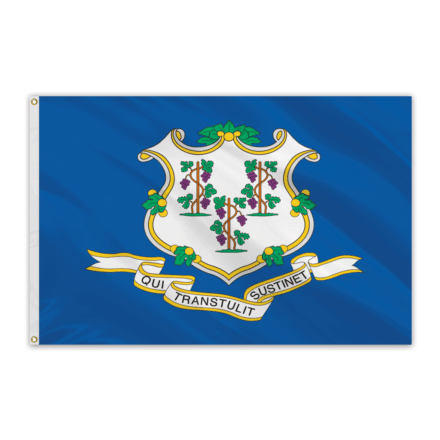 Connecticut Outdoor Spectrapro Polyester Flag - 5'x8'