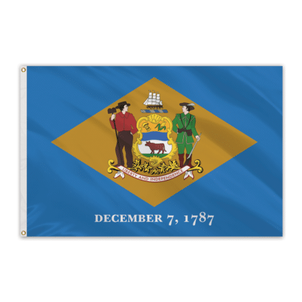 Delaware Outdoor Spectrapro Polyester Flag - 5'x8'