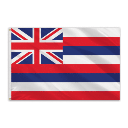 Hawaii Outdoor Spectrapro Polyester Flag - 5'x8'