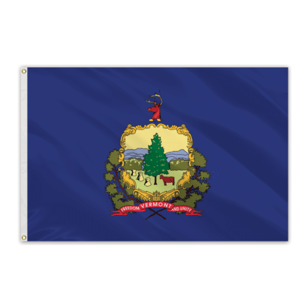 Vermont Outdoor Spectrapro Polyester Flag - 5'x8'