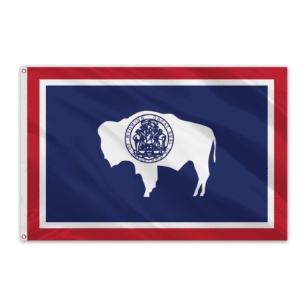 Wyoming Outdoor Spectrapro Polyester Flag - 5'x8'