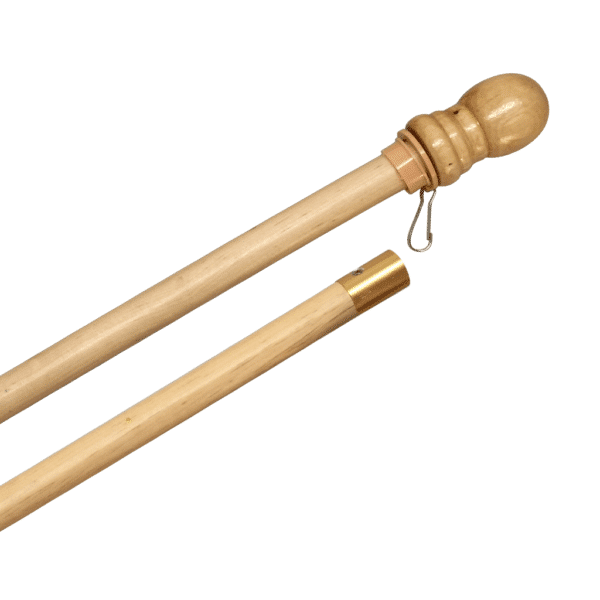 Heritage Series Pole Wood 2-Sections